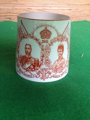 A King George V and Queen Mary 1911 Coronation mug