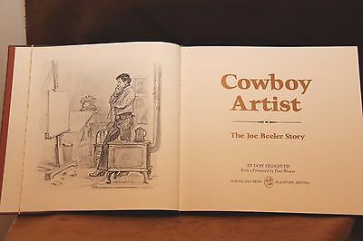 Cowboy Artist-The Joe Beeler Story #63 of 100 (Signed)