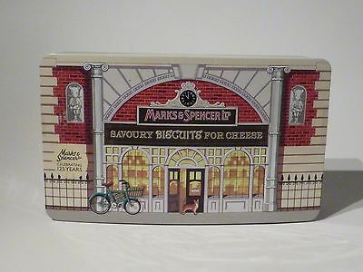 Marks and Spencer novelty biscuit tin