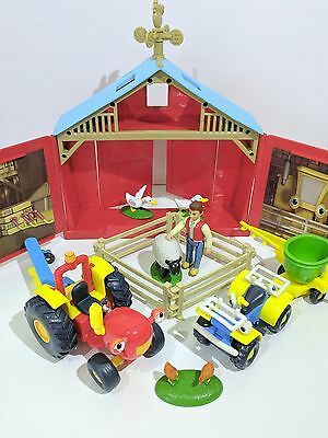 Tractor Tom Springhill Farm Playset Tractor Tom Toy Vehicles Bundle Lot