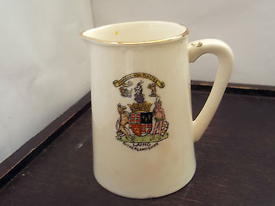 Small Milk Jug  By Albion China  Crested Lairg  Sutherlandshire