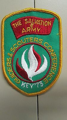 The Salvation Army Guiders & Scouters Conference Key '73 Patch