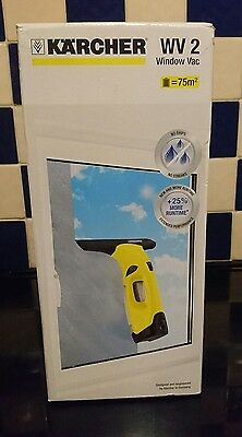 Brand New BNIB Karcher WV2 Window Vac Vacuum Cleaner Cordless Rechargeable