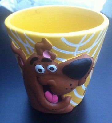 Scooby Doo Yellow Trinket Cup Resin Hanna Barbera Lovely item Vintage