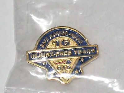 American Trucking Association Pin Safe Worker Award 16 Years Injury Free ATA