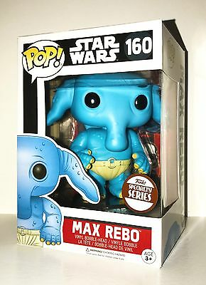 Funko Pop Star Wars MAX REBO 160 Specialty Series Exclusive New In Box