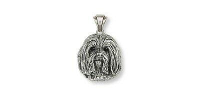 Havanese Jewelry Sterling Silver Pendant Havanese Charms And Havanese Jewelry HV