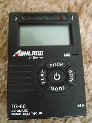 ASHLAND By Crafter - Tuner - Model TG-80 - Chromatic Guitar/Bass/Violin
