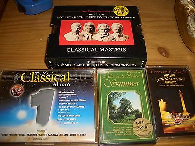 classical cassette tapes x 4