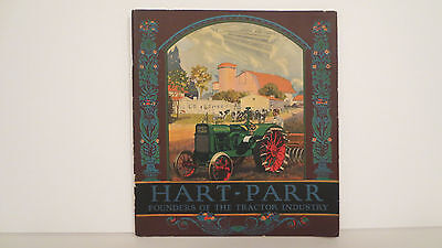 Hart Parr Tractor brochure from 1926 on Models 12-24, 18-36, 28-50, very nice.