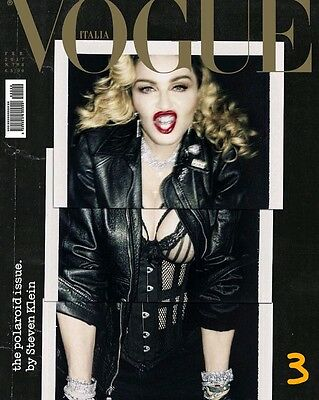 VOGUE ITALIA February 2017 MADONNA by Steven Meisel COVER 3 PRE-ORDER NEW