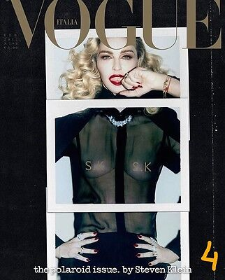 VOGUE ITALIA February 2017 MADONNA by Steven Meisel COVER 4 PRE-ORDER NEW