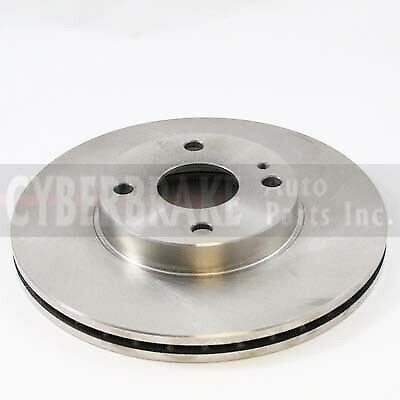 5474 FRONT Brake Rotor Pair of 2 Fits 91-98 Ford Escort