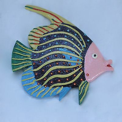 Wooden wall hanging fish