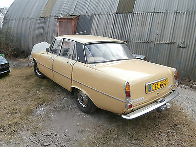 Rover P6 2200 Automatic FRENCH REGISTERED French mot until August