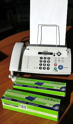 BROTHER FAX-878. PLUS 3 Thermal Printing Rolls
