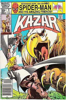 Ka-Zar the Savage #9 (Dec 1981, Marvel)