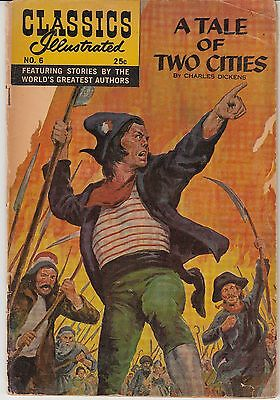 Classics Illustrated 6 [HRN166] (Fall 1968, Gilberton) A Tale of Two Cities