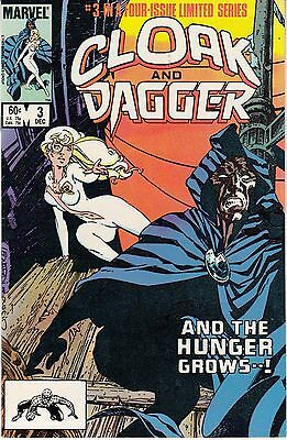Cloak and Dagger #3 (Dec 1983, Marvel) #3 of 4