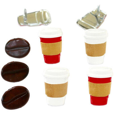 NEW Eyelet Outlet Shape Brads 12 pack Coffee