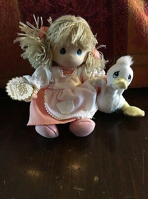 Precious Moments Baby Collection Doll With Duck limited # 45025