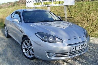 2007 Hyundai Coupe 2.0 SIII 3dr 3 door Coupe