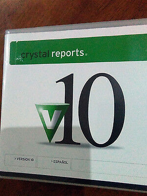 Crystal Reports V.10