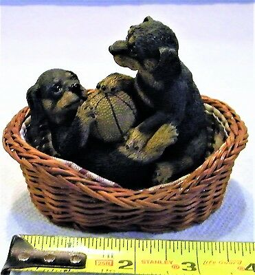 Rottweiler Statue, Perfect Condition, over 18  years old