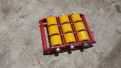 Industrial Skate 20 tonnes Heavy Roller Machinery Mover Cargo Trolley
