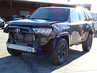 2015 Toyota 4Runner SR5 2015 Toyota 4Runner SR5 Damaged Salvage Only 15K Miles Perfect Project Must See!
