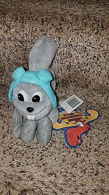Stuffins Rocky & Bullwinkle & Friends Rocket J Squirrel CVS Plush Figure NEW