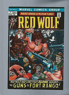 Red Wolf #1 VF/NM 9.0 1st Appearance of Red Wolf Gil Kane Stories 1972