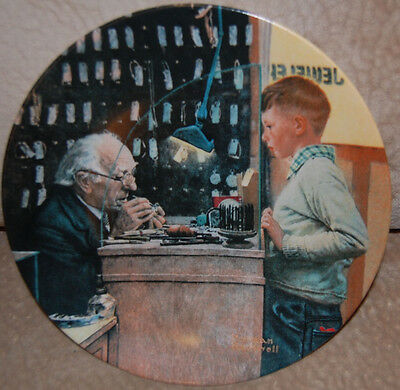 Set of 4 NORMAN ROCKWELL Display Collector Plates