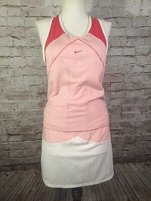 Nike Women's Fit Dry Tennis Skort (S) & Top (M) Size Small & Medium Outfit Pink