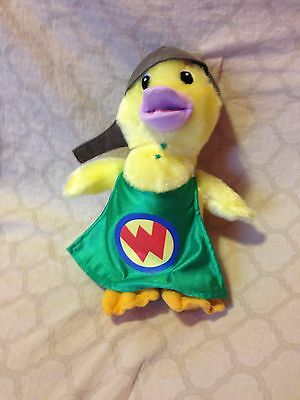 "Fisher Price 2008 Wonder Pet Duck Ming Ming 9"" Plush Stuffed # P3500   (97)"
