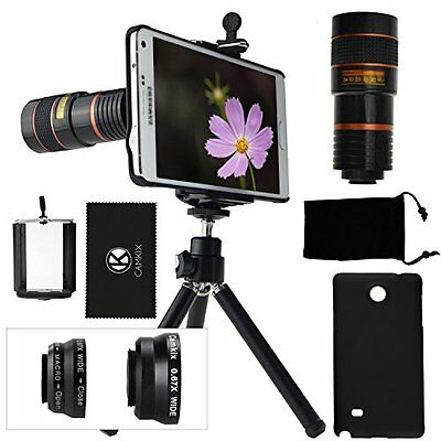 CamKix Camera Lens Kit for Samsung Galaxy Note 4 including 8x Telephoto Lens ...