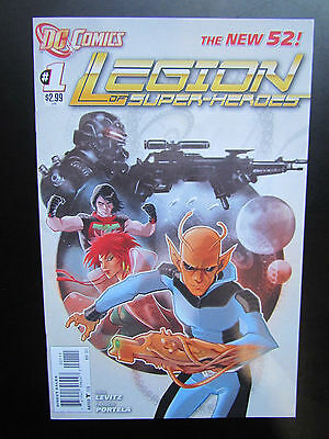 Legion Of Super-Heroes #1 - Dc Comics - New 52