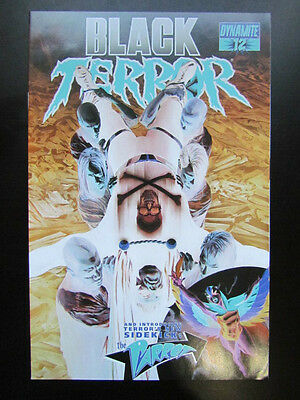 Black Terror #12 Alex Ross 1:50 Negative Art Variant Rare! Dynamite