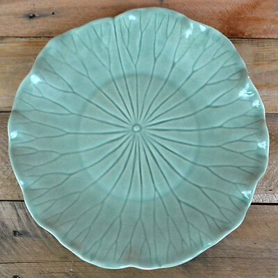 """LOTUS by Poppytrail 11"""" Plate Gray Hand-crafted Metlox Potteries             Y05"""