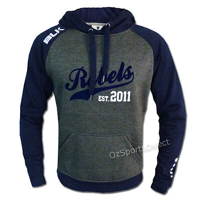 Melbourne Rebels 2015 Graphic Hoodie EXTRA LARGE *SALE PRICE*