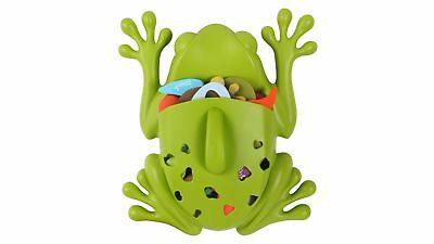 Boon Bath Pod Scoop for Wall Mounted Bathing Toy Storage - Frog - Green