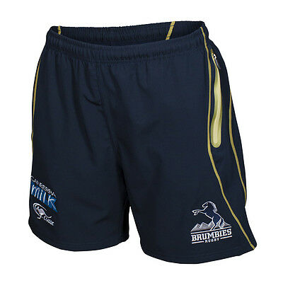 ACT Brumbies 2017 Gym Shorts  Sizes S - 5XL