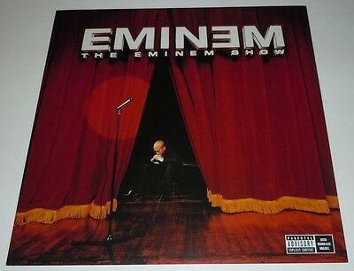 EMINEM~The Eminem Show~Promo Poster~Double Sided~12x12~Excellent Condition~2002