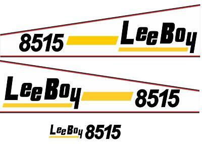 Lee Boy 8515 Paver Replica Decal Set, 3-Pcs Kit, Brand New Decal Kit