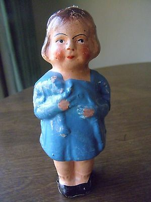 Vintage Paper Mache Doll Made in Germany