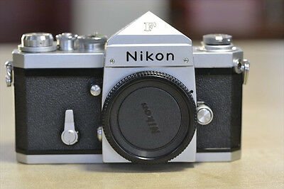 1964 Nikon F Eye-level 65***** SN 35mm SLR - Excellent Condition and Film Tested