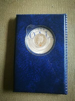 Perth Mint platinum coin 1/10 ounce with collector case 1992