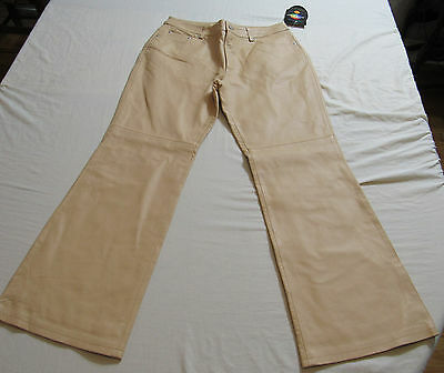 NEW WITH TAGS Jeanology Newport News Leather Pants Size 14 Petite : 6723