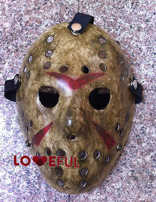New Cosplay Make Old Delicated Jason Voorhees Freddy Hockey Festival Party Mask