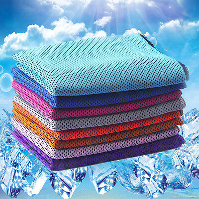 Instant Cooling Towel Sports Gym Towel Drying Sweat Absorb Dry Summer Gifts